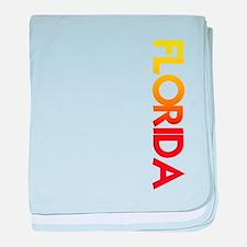 FLORIDA baby blanket