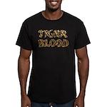 Tiger Blood Men's Fitted T-Shirt (dark)