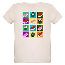 Sushi Pop Art T-Shirt