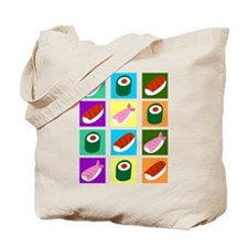 Sushi Pop Art Tote Bag
