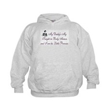 Pink, My Daddy is My Knight Hoodie