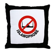 NO SHARIA LAW Throw Pillow