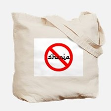 NO SHARIA LAW Tote Bag