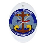 USS COGSWELL Ornament (Oval)