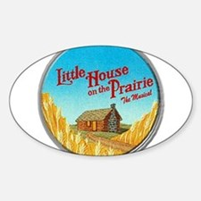 House on Prairie Ingalls Decal