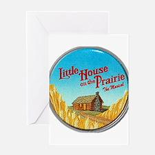 House on Prairie Ingalls Greeting Card