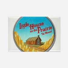 House on Prairie Ingalls Rectangle Magnet