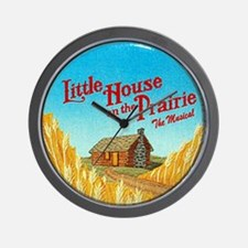 House on Prairie Ingalls Wall Clock