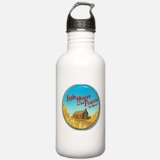 House on Prairie Ingalls Water Bottle