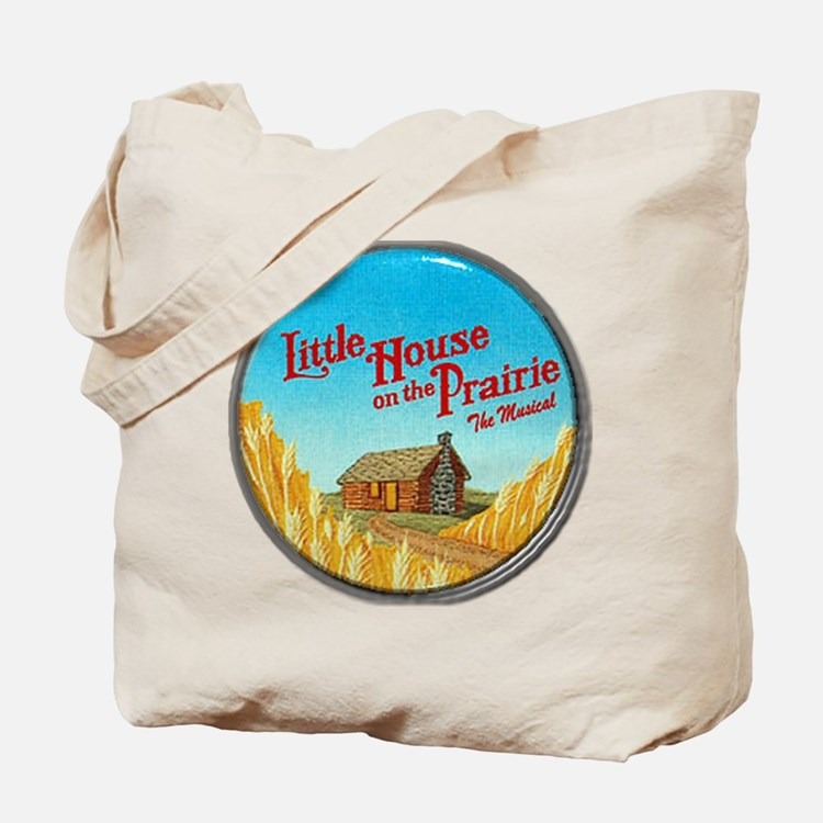 House on Prairie Ingalls Tote Bag