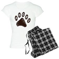 Animal Adoption Paw Pajamas