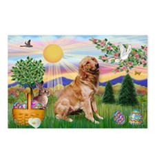 Golden Retriever Easter Postcards (Package of 8)