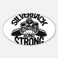 KONG STRONG Sticker (Oval)