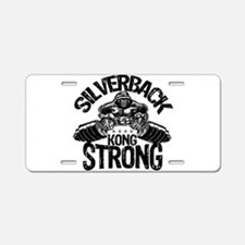 KONG STRONG Aluminum License Plate