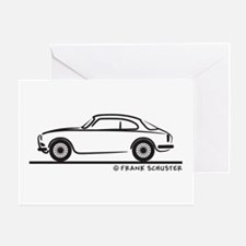 Alfa Giulietta Sprint Greeting Card