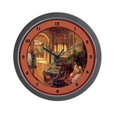 Cute Orientalists Wall Clock