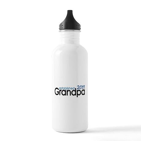 Grandpa Est 2011 Stainless Water Bottle 1.0L