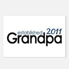 Grandpa Est 2011 Postcards (Package of 8)