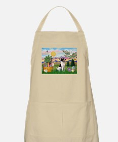 Toy Fox Terrier Easter BBQ Apron