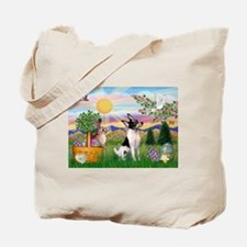 Toy Fox Terrier Easter Tote Bag