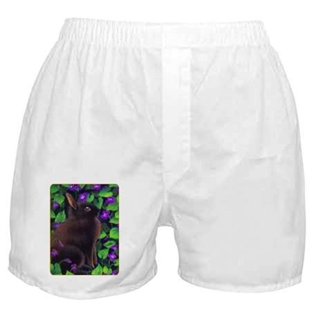 Bunny & Violets Boxer Shorts