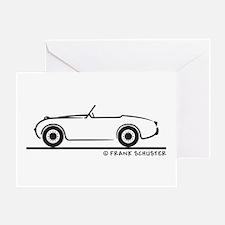 1959 Austin Healey Sprite Greeting Card