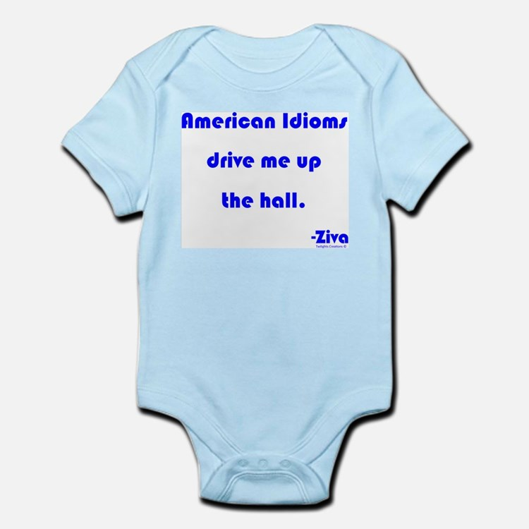 Up The Hall Infant Bodysuit