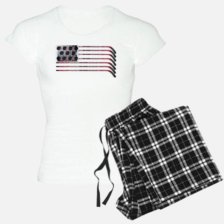 USA Hockey Flag Pajamas