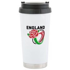Rugby England Travel Mug