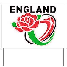 Rugby England Yard Sign