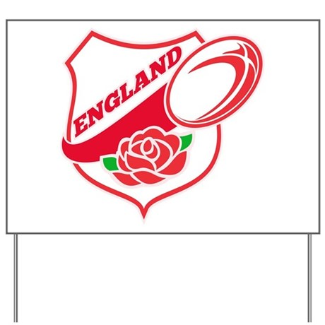 Rugby England Yard Sign