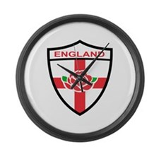 Rugby England Large Wall Clock