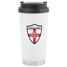 Rugby England Travel Coffee Mug