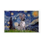 Starry-AmericanHairless T 20x12 Wall Decal