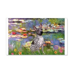 Lilies2-Am.Hairless T 20x12 Wall Decal