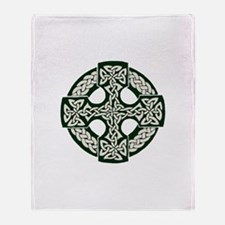 Celtic Cross Throw Blanket