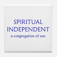 Spiritual Independent Tile Coaster