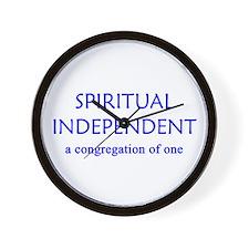 Spiritual Independent Wall Clock