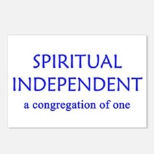 Spiritual Independent Postcards (Package of 8)