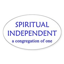 Spiritual Independent Decal
