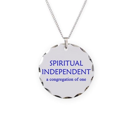 Spiritual Independent Necklace Circle Charm