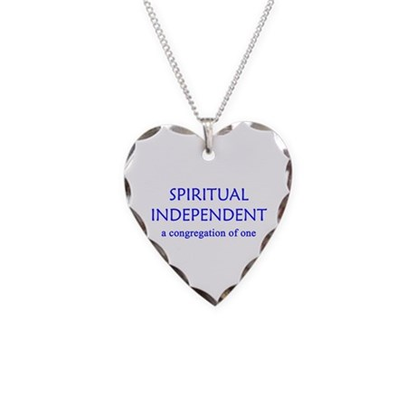 Spiritual Independent Necklace Heart Charm