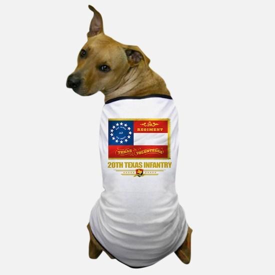 20th Texas Infantry Dog T-Shirt