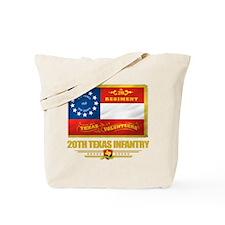 20th Texas Infantry Tote Bag