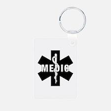 Medic EMS Star Of Life Keychains
