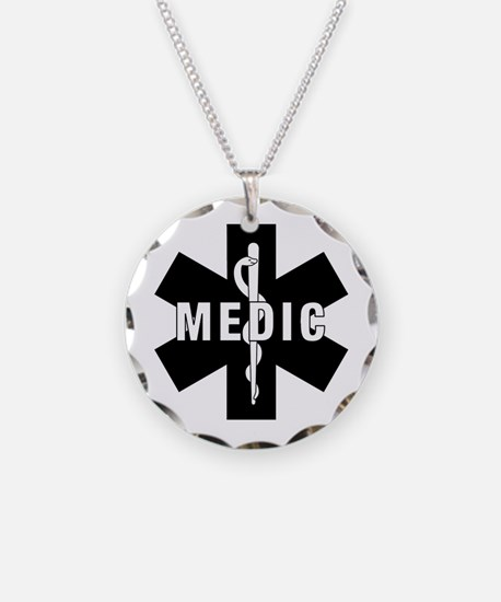 Medic EMS Star Of Life Necklace
