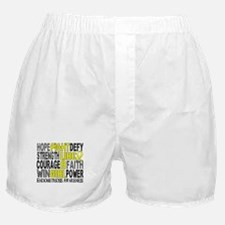 Licensed Fight Like A Girl 23.3 Endom Boxer Shorts