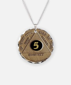 5 YEAR COIN Necklace