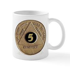 5 YEAR COIN Small Mug