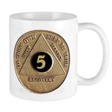 5 YEAR COIN Small Mugs